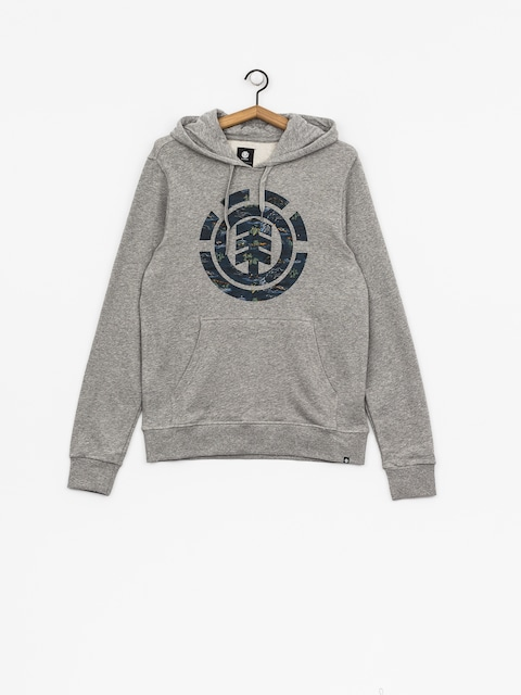 Bluza z kapturem Element Logo Fill HD (grey heather)