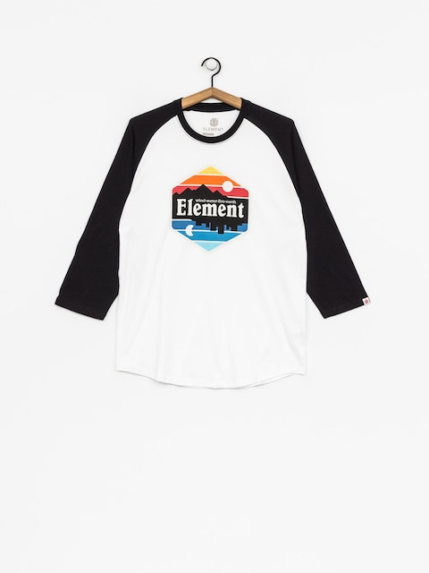 Koszulka Element Dusk Raglan Qtr (optic white)