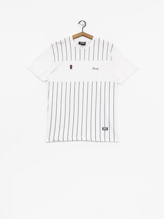 T-shirt Grizzly Griptape Midfielder (white)