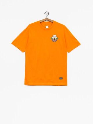 T-shirt Grizzly Griptape Bear & Loathing (orange)