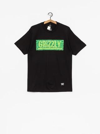 T-shirt Grizzly Griptape Fresh Cut Box Logo (black)