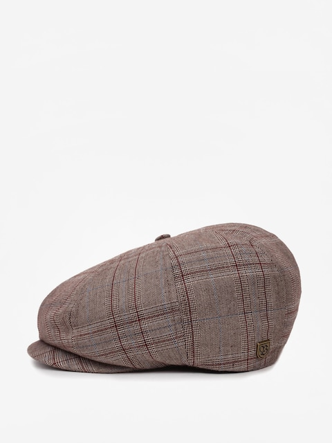 Kaszkiet Brixton Brood Snap ZD (taupe plaid)