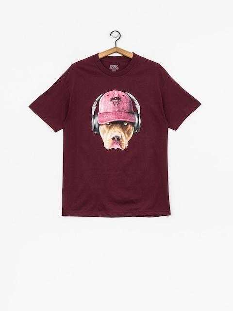 T-shirt DGK Red Nose (burgundy)