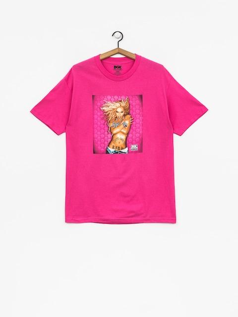 T-shirt DGK Queen B (hot pink)