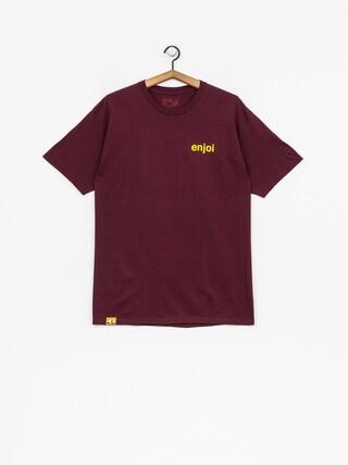 T-shirt Enjoi Pussy Magnet (burgundy)