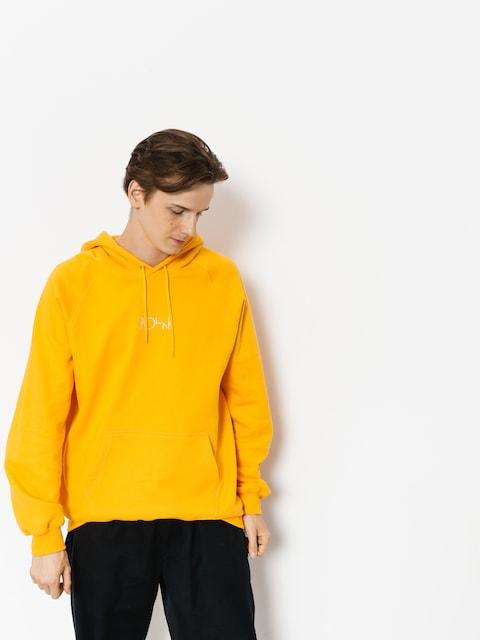 Bluza z kapturem Polar Skate Default HD (yellow)
