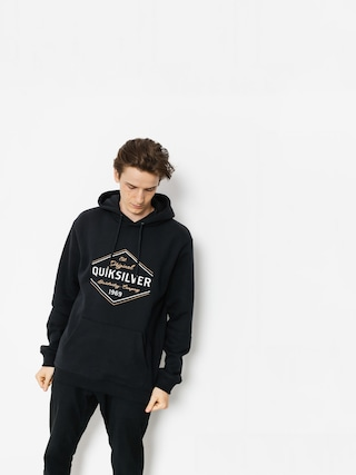 Bluza z kapturem Quiksilver Nowhere North HD (black)