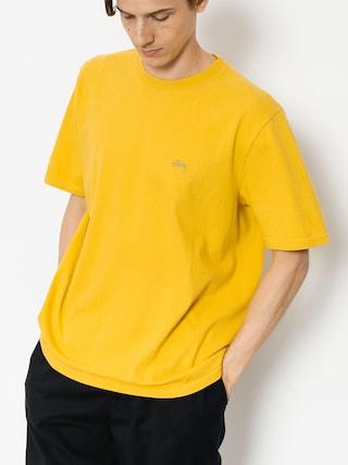 T-shirt Stussy Stock (mustard)