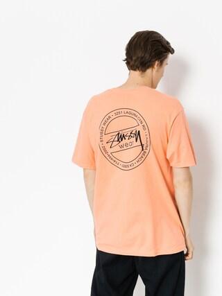 T-shirt Stussy Laguna Dot (salmon)