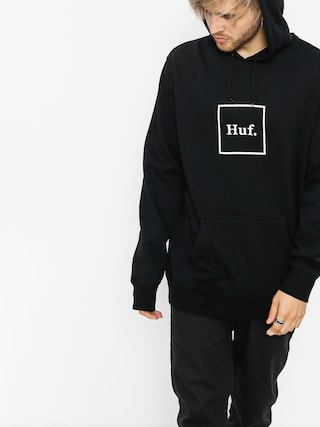 Bluza z kapturem HUF Box Logo HD (black)
