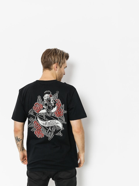 T-shirt Malita Pin Up (black)