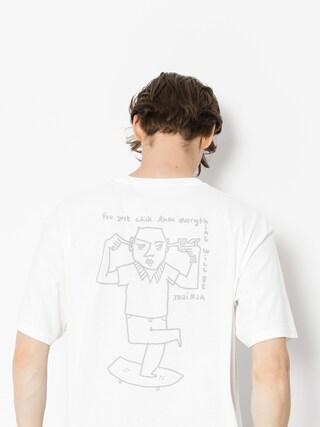 T-shirt Polar Skate Click (white)