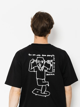 T-shirt Polar Skate Click (black)