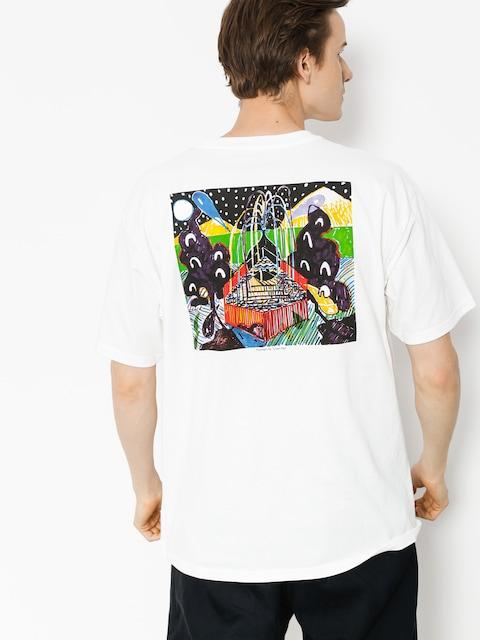 T-shirt Polar Skate Fountain (white)