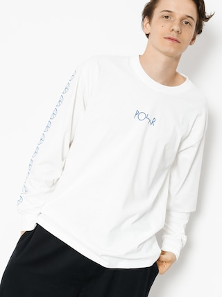 Longsleeve Polar Skate Racing (white)