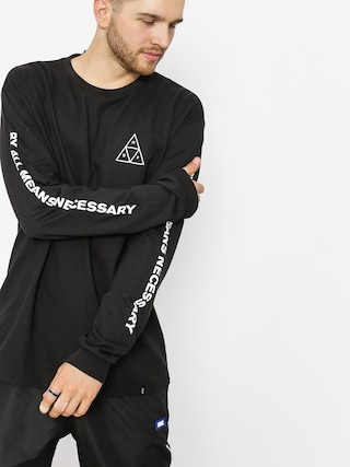 Longsleeve HUF Essentials TT (black)