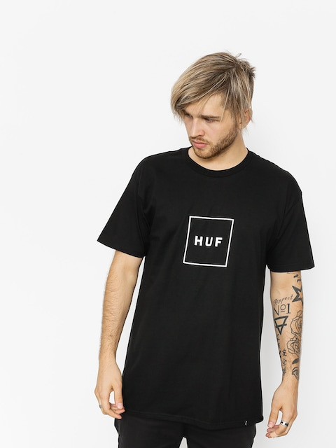 T-shirt HUF Essentials Box Logo (black)