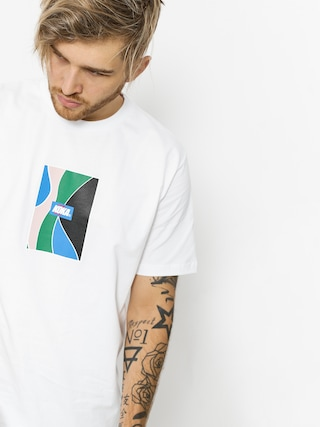 T-shirt Koka Glass (white)