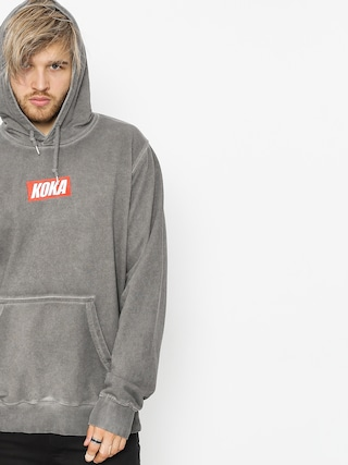 Bluza z kapturem Koka Mini Boxlogo Prewashed HD (grey)