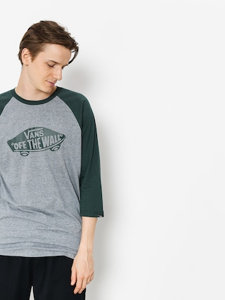 T-shirt Vans Otw Raglan (heather grey/darkest spruce)