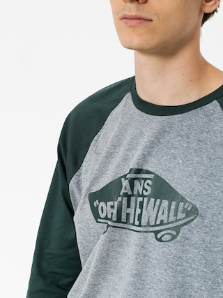 T-shirt Vans Otw Raglan (heather grey/darkest spruce)