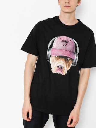 T-shirt DGK Red Nose (black)