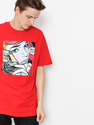 T-shirt DGK Who Dis (red)