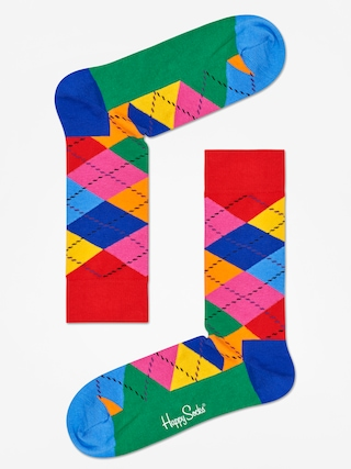 Skarpetki Happy Socks Argyle (red/blue/multi)