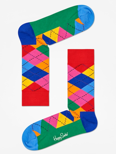 Skarpetki Happy Socks Argyle (red/blue/multi)