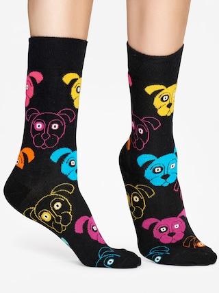 Skarpetki Happy Socks Animal Dog (black/pink)