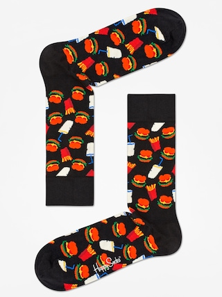 Skarpetki Happy Socks Hamburgers (black/white)
