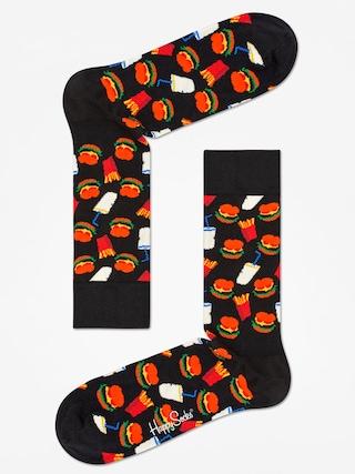 Skarpetki Happy Socks Hamburgers (black/white)