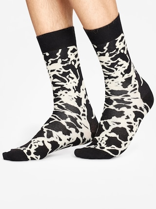 Skarpetki Happy Socks Marble (black zebra)