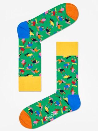 Skarpetki Happy Socks Giftbox 3pk (blue/black/green)