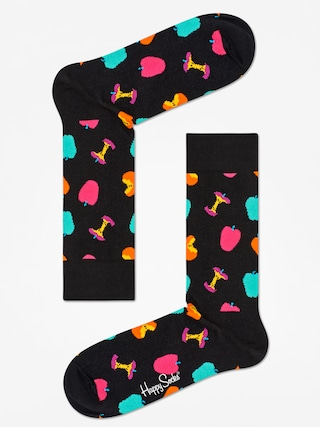 Skarpetki Happy Socks Apple Core (black/multi)