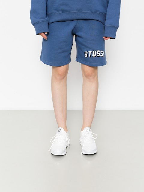 Szorty Stussy Collegiate Sweatshort Wmn (cool blue)