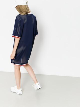 Sukienka Fila Drew Mesh Wmn (peacoat/red/white)