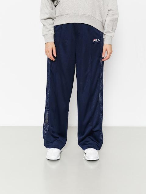 Spodnie Fila Neka Snap Side Flare Wmn (peacoat/white)