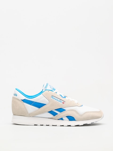 Buty Reebok Cl Nylon Wmn (archive white/cycle blue)