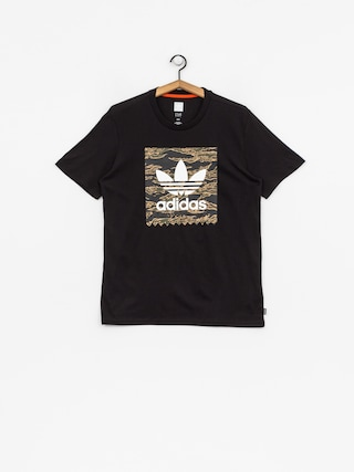 T-shirt adidas Camo Bb (black/camo print/collegiate orange)