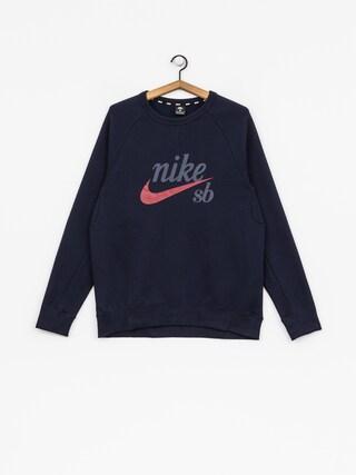 Bluza Nike SB Sb Icon (obsidian/red crush)