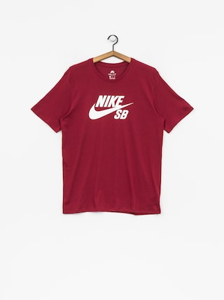 T-shirt Nike SB Sb Logo (red crush/white)