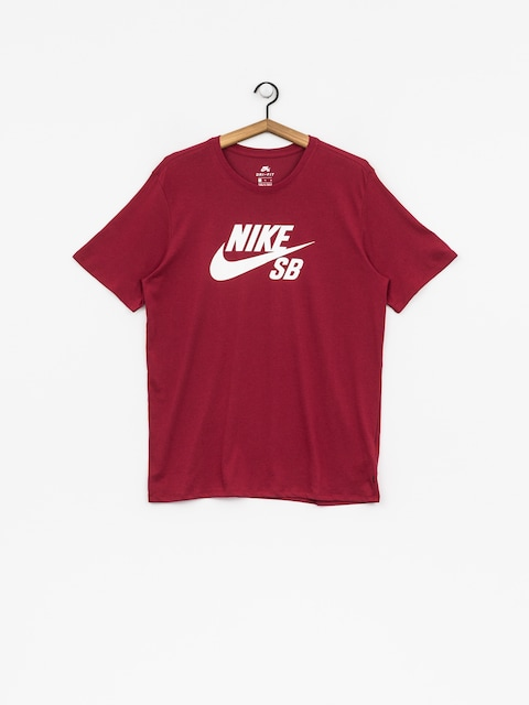 T-shirt Nike SB Sb Logo (red crush/white)