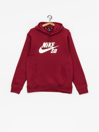Bluza z kapturem Nike SB Sb Icon HD (red crush/white)