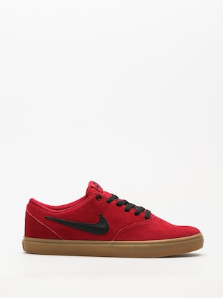 Buty Nike SB Sb Check Solarsoft (red crush/black gum light brown)