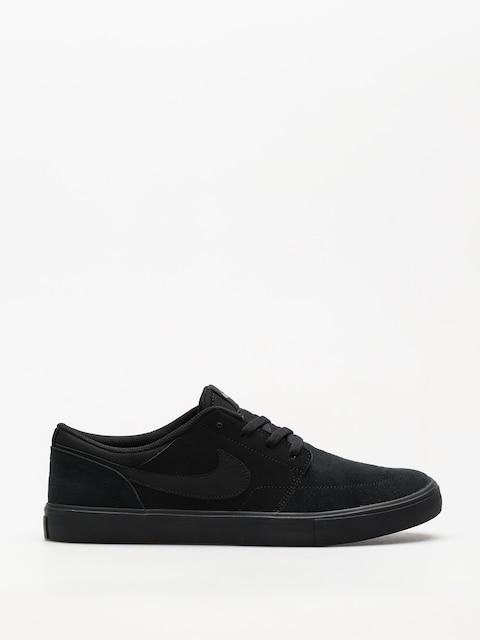 Buty Nike SB Sb Solarsoft Portmore II (black/black)
