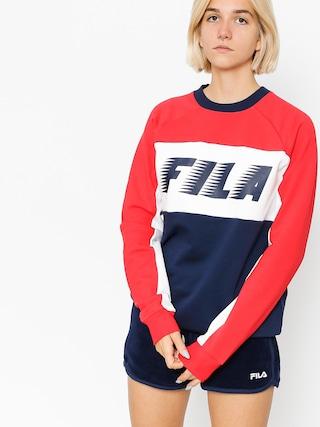 Bluza Fila Layton Colour Block Wmn (peacoat/red/white)