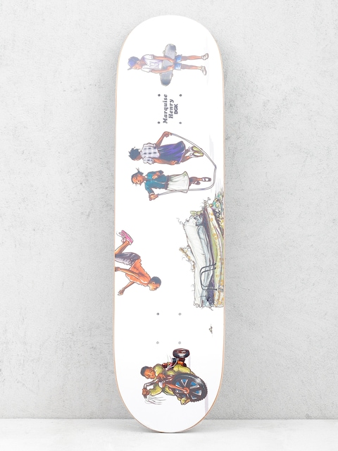 Deck DGK Quise Playground (white)