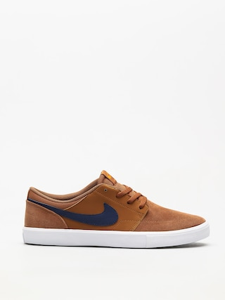 Buty Nike SB Sb Solarsoft Portmore II (lt british tan/blue void black)