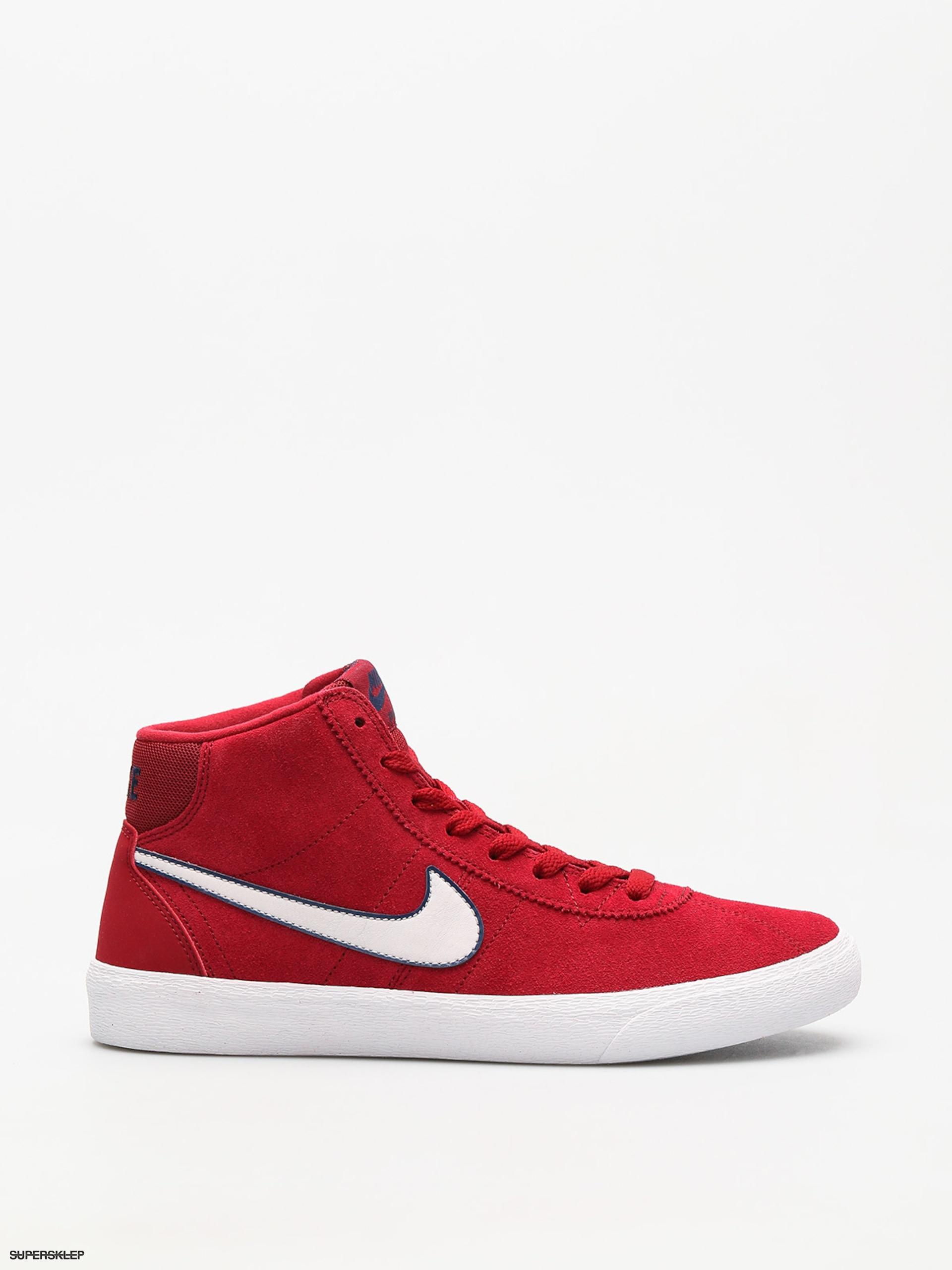 25af5d58d2bf Buty Nike SB Sb Bruin Hi Wmn (red crush vast grey white)